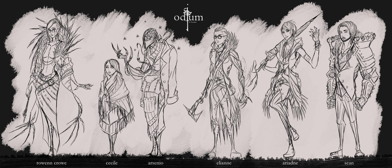 Project Odium - Character Overhaul by Tevarro