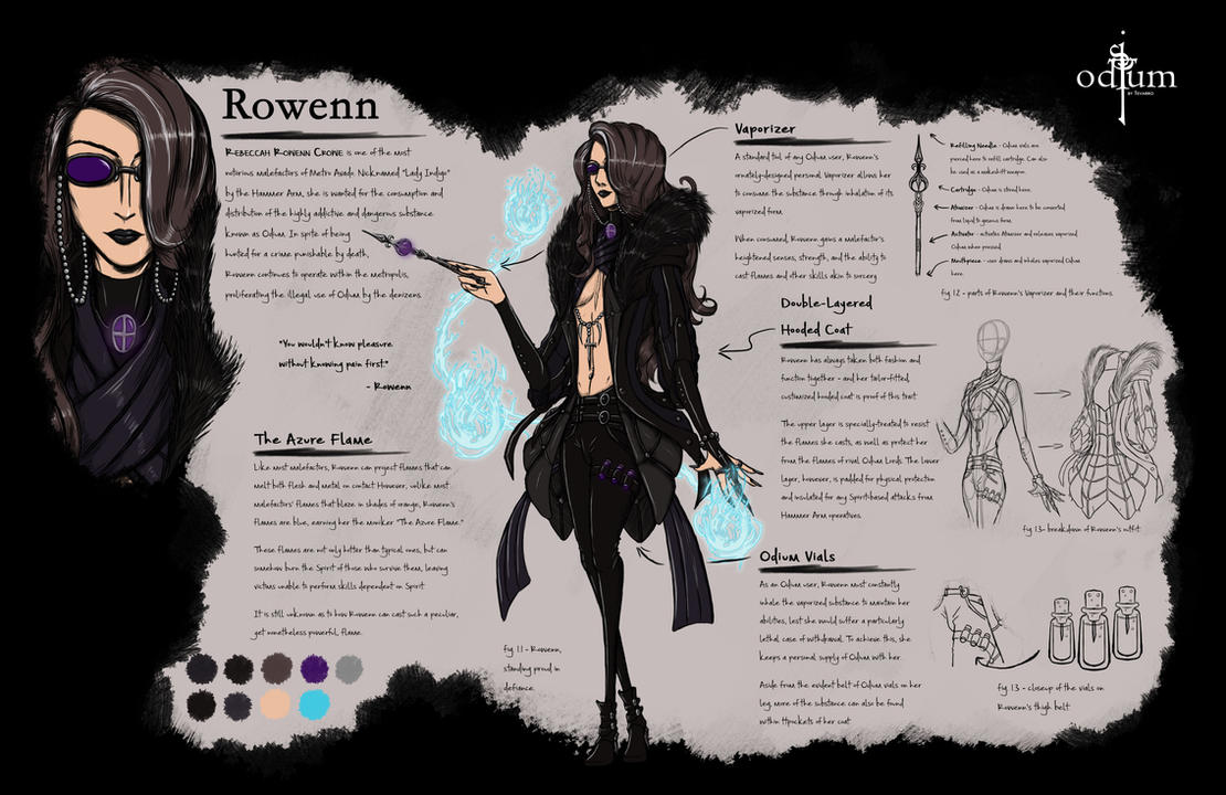 Rowenn by Tevarro