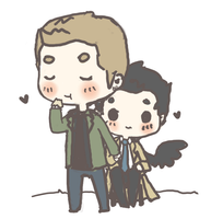 Destiel by demialien