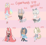 FREE CYBERHUNDS FTO RAFFLE [ CLOSED ]