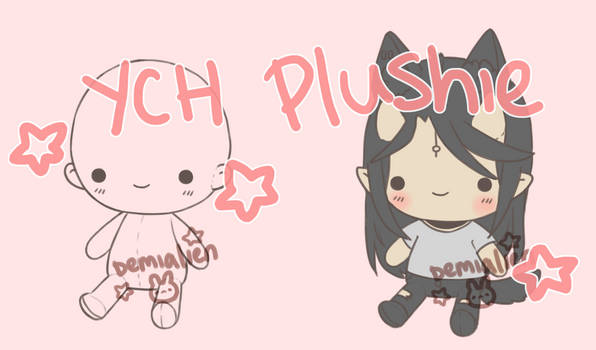 YCH PLUSHIE COMMISSION [ OPEN ]