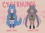 CYBERHUNDS BATCH - SET PRICE [ 1/2 OPEN ]