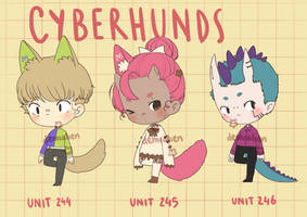 CYBERHUNDS BATCH - SET PRICE [ 2/3 OPEN ]
