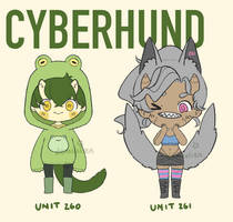 CYBERHUNDS BATCH - AUCTION [ CLOSED ]