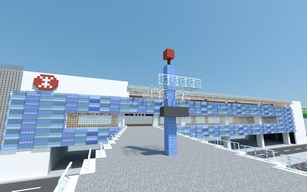 minecraft hong kong airport download
