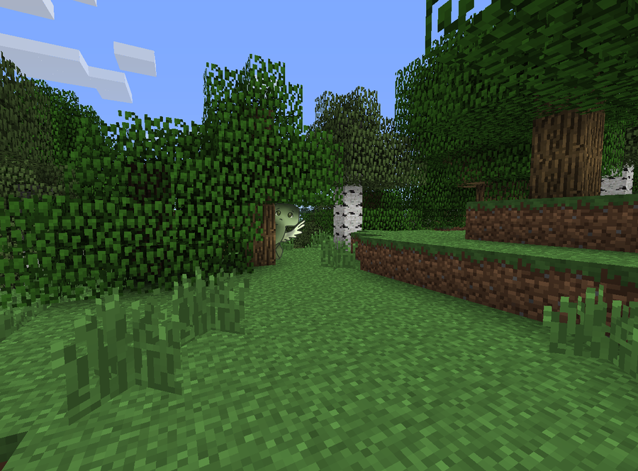 Ordinary Minecraft Forest By Honeybreeze1 On Deviantart