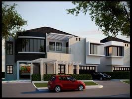 Just a house by NyomanWinaya