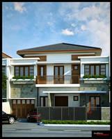 Rawamangun House by NyomanWinaya
