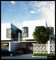 Box House in Bekasi by NyomanWinaya