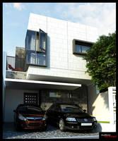 Box House in Bekasi 3 by NyomanWinaya