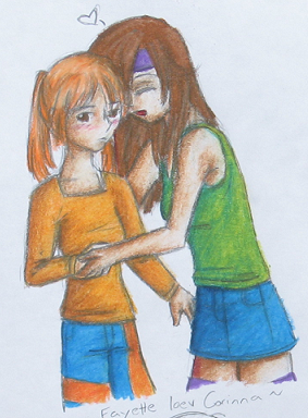 Fayette and Corinna by MellySandshrew