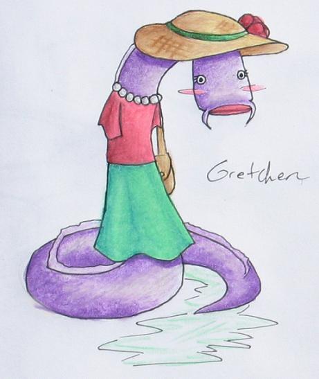 Mrs. Hagfish by MellySandshrew