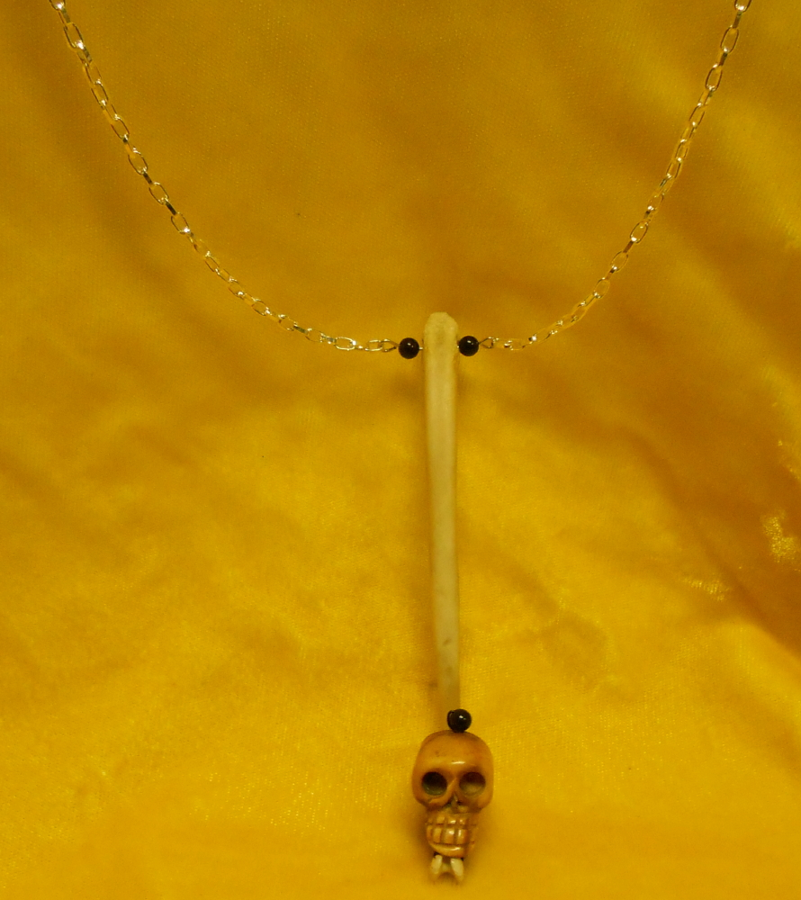 Authoritative Racoon penis necklace