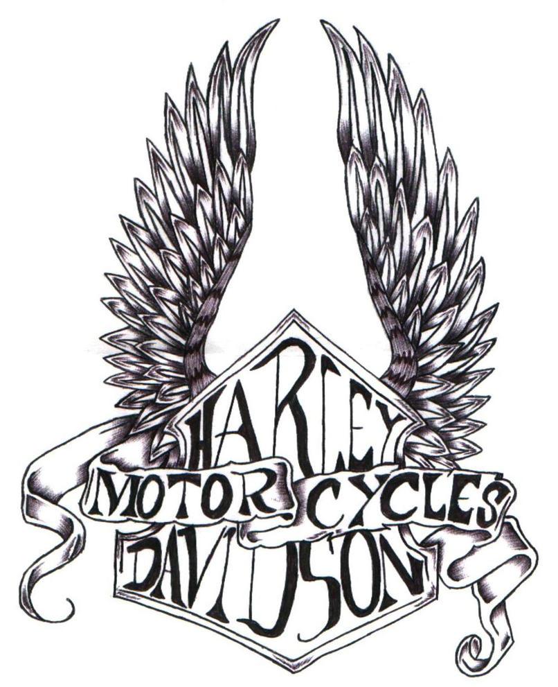 Harley wings by ppunker on deviantart