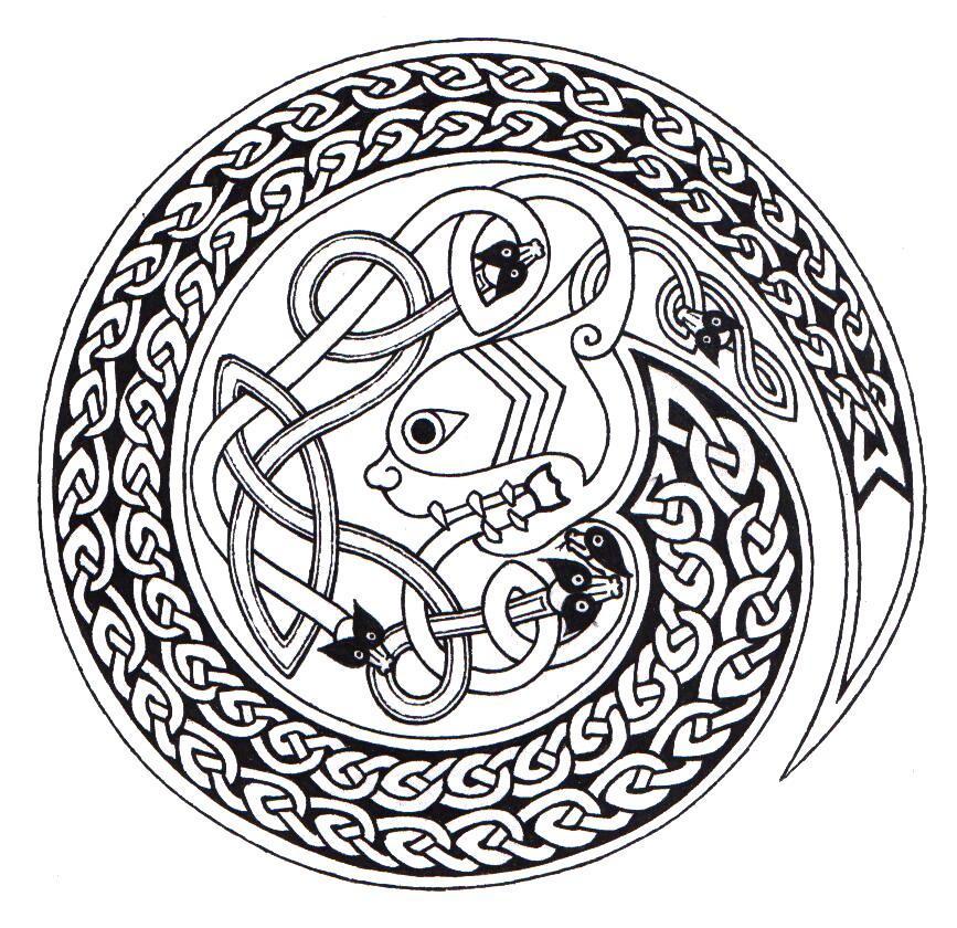 Celtic Snake by ppunker