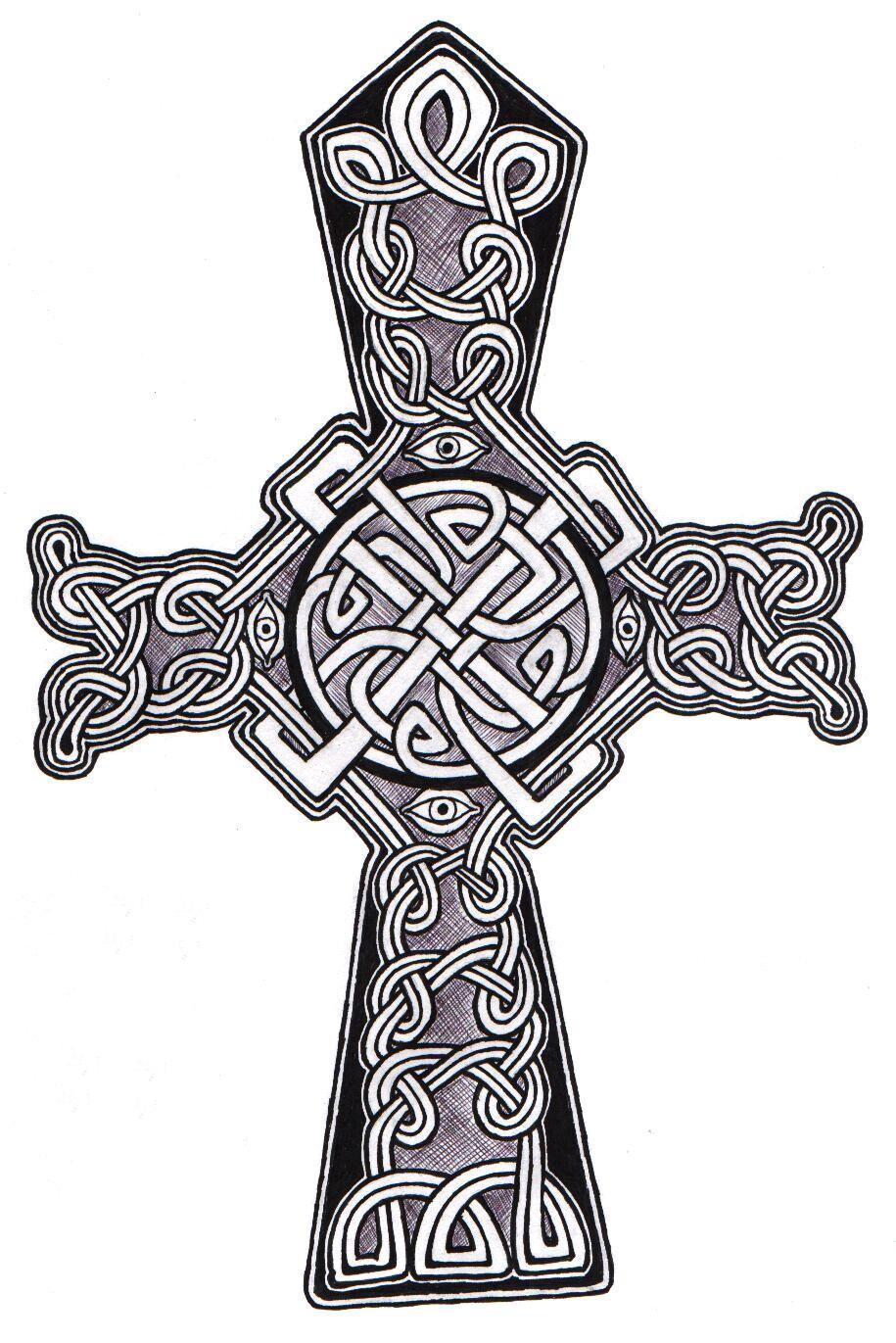 Celtic Cross 03 by ppunker