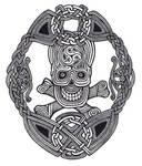 Celtic Skull Knot