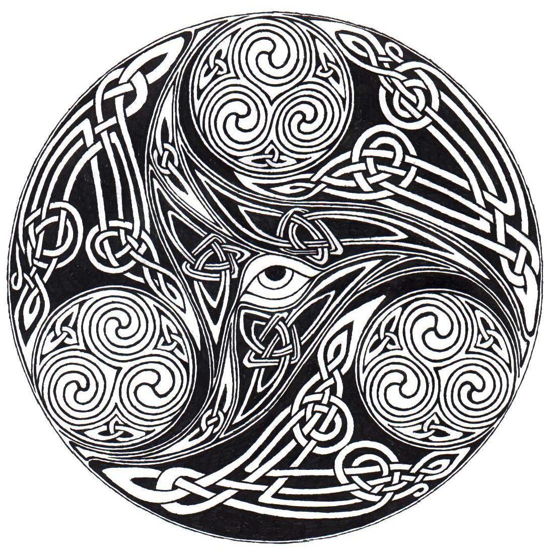 Celtic Eye Knot by ppunker