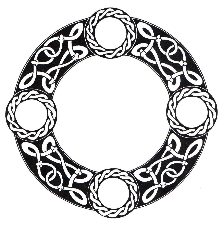 Scandinavian Knot Circ...