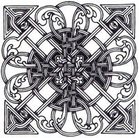 Celtic Square Knot by ppunker