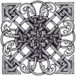 Celtic Square Knot
