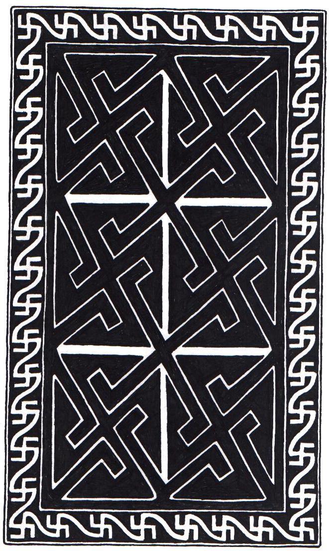 Celtic Rectangle Knot design by ppunker on deviantART