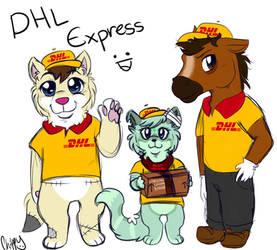 DHL Express by ChippyShark