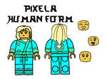 Pixela human form