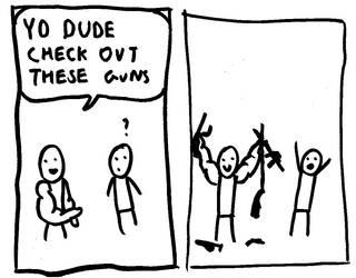 guns by omgflyingbanana