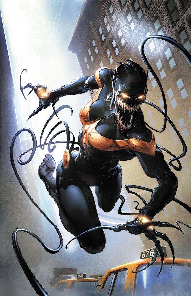 Captain Marvel Venom by lionbadger