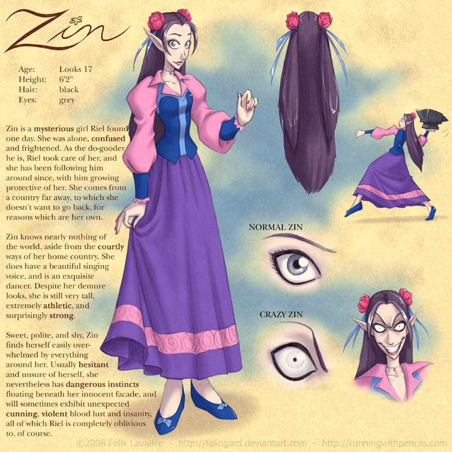 Rogue Skies: Zin reference by falingard