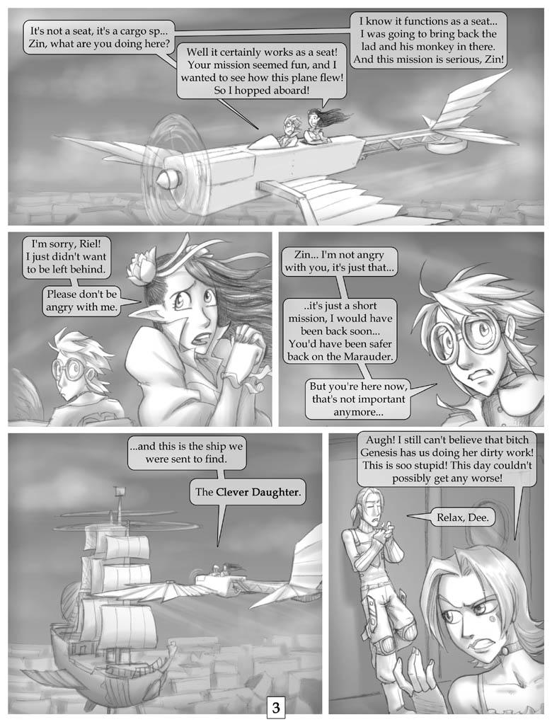 Rogue Skies: Round 1 pg 3 by falingard