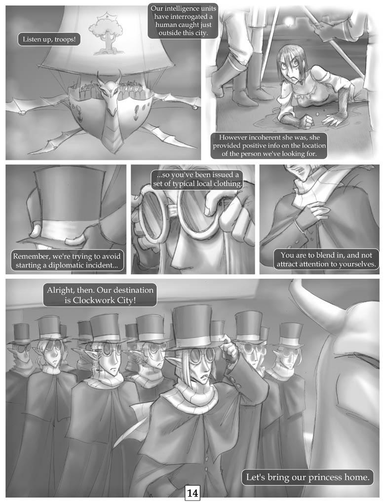 Rogue Skies: Round 1 pg 14 by falingard
