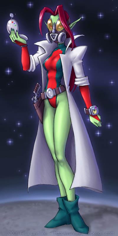 Doctor Maya Apple by falingard