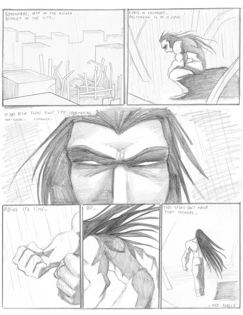 24h comic 2006: OCAA p.1 by falingard
