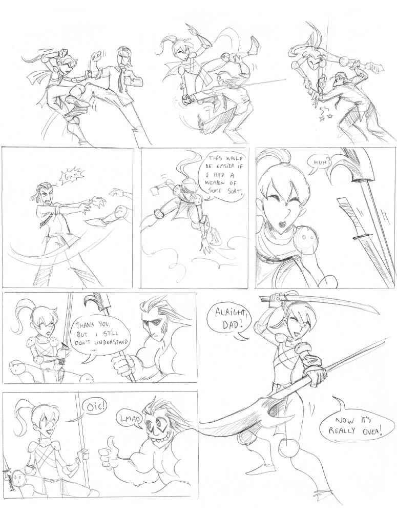 24h comic 2006: OCAA p.23 by falingard