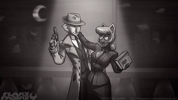 Old-fashioned partners