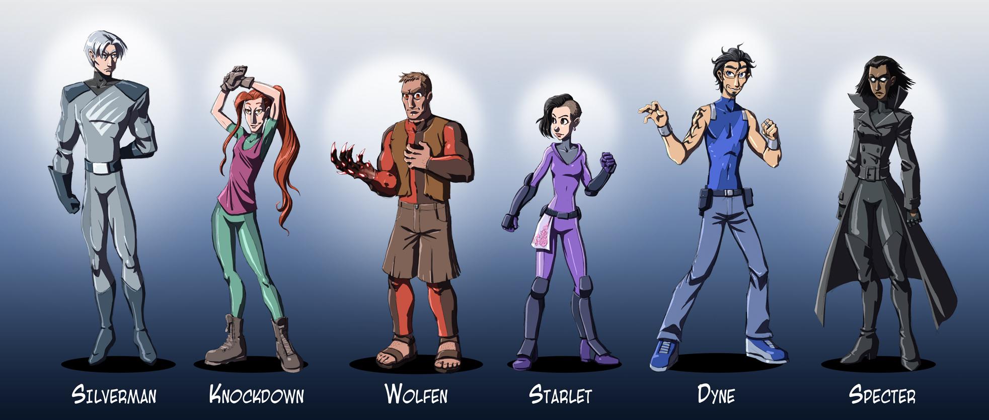 Heroes by falingard