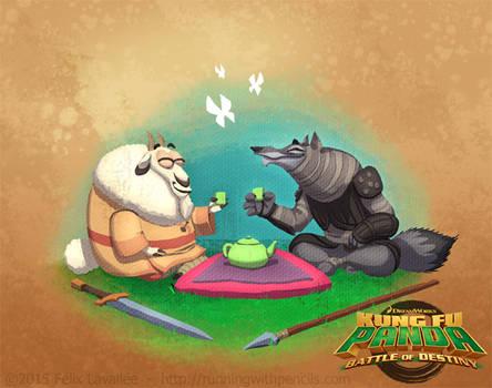 KFP Battle of Destiny // Meet Halfway