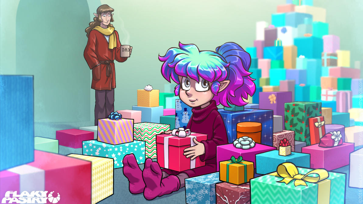The gift that keeps on giving by falingard