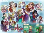 Merry Kissmas! by falingard
