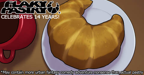 Flaky Pastry celebrates 14 years by falingard