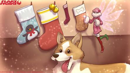Jingle bell socks by falingard