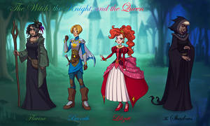 The Witch, the Knight, and the Queen