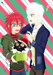 Shinra x Yomi Christmas