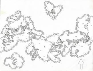 Regional Fantasy Map 1