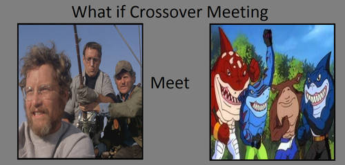 The Jaws Trio Meet The Street Sharks