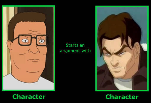 Hank Hill Starts An Argument With Nick Tatopoulos