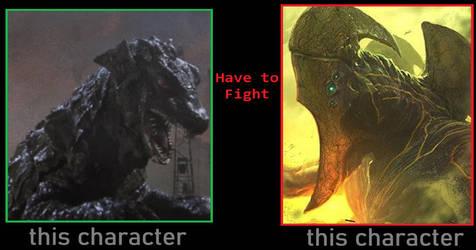 Gorgo/Ogra Has To Fight Mutavore