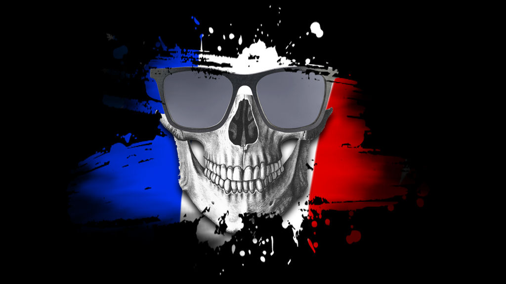 France Flag Wallpaper With Skull By Hrishitchouhan On Deviantart